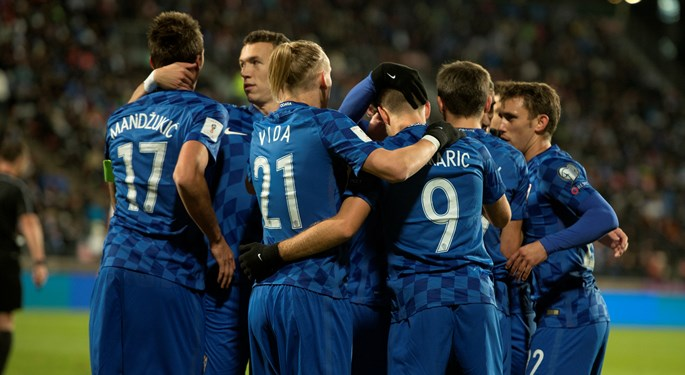 Lone Mandžukić goal for more Croatia celebrations