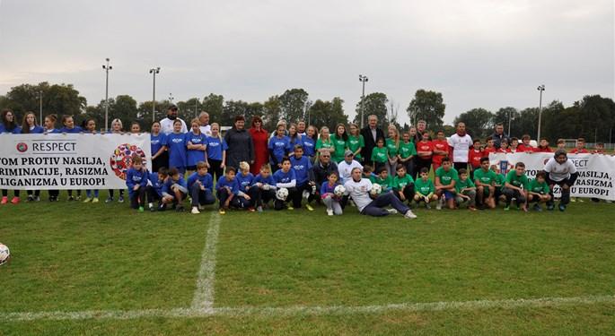 Održan 6. nogometni kamp nacionalnih manjina u Bjelovaru