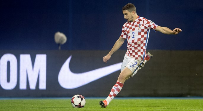 Knee injury prevents Vrsaljko from Ukraine appearance
