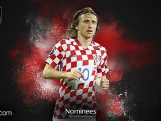 Croatia captain Modrić nominated for UEFA Team of the Year