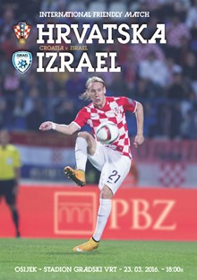 Friendly Match<br>Croatia v. Israel Osijek, 23 March 2016