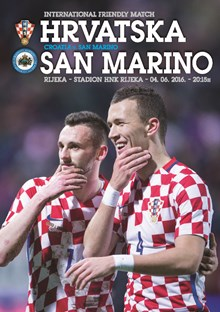 Friendly Match<br>Croatia v. San Marino Rijeka, 4 June 2016