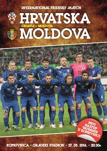 Friendly Match<br>Croatia v. Moldova Koprivnica, 27 May 2016