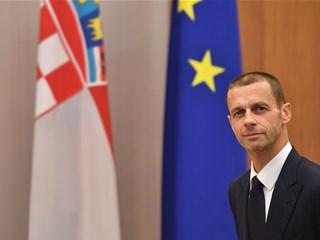 UEFA president Aleksander Čeferin visits Croatia and HNS