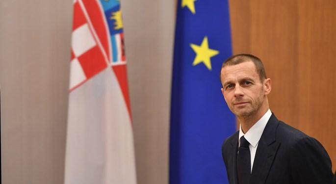 Predsjednik Uefe Aleksander Čeferin posjetio Hrvatsku i HNS#UEFA president Aleksander Čeferin visits Croatia and HNS