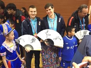 Šitum i Tudor predstavljali Hrvatsku u školi u Nanningu