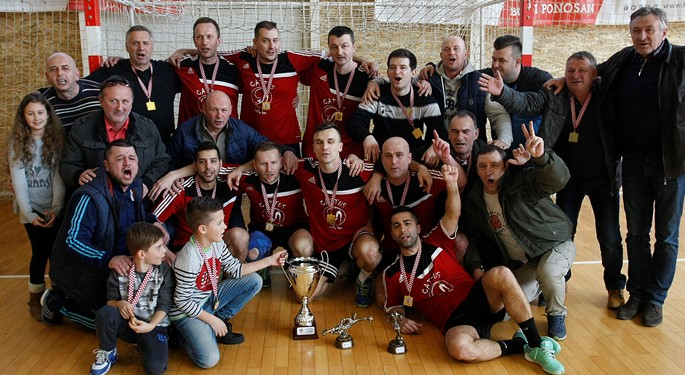 24 momčadi na Dvoranskom prvenstvu veterana u Rovinju