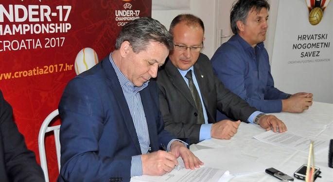 U Varaždinu potpisan ugovor o EP-u U-17 i finalu Kupa