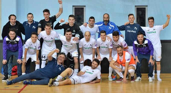 Novo Vrijeme Apfel malonogometni prvak Hrvatske