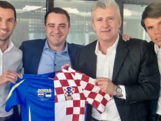 Šuker ugostio predsjednika FFU-a Andriya Pavelka