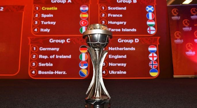 Održan ždrijeb UEFA U-17 Europskog prvenstva 2017.#Final draw ceremony for UEFA U-17 Euro held in Zagreb