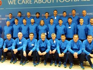 Nogometna akademija HNS-a: Razmjena studenata s Uefom