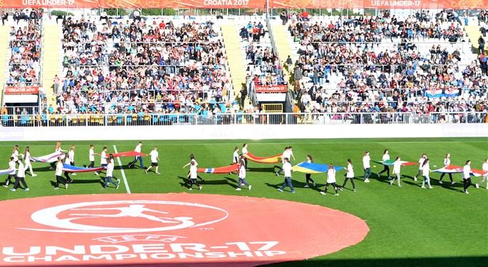 Otvoreno UEFA U-17 Europsko prvenstvo u Hrvatskoj#Opening of the UEFA European U-17 Championship in Croatia