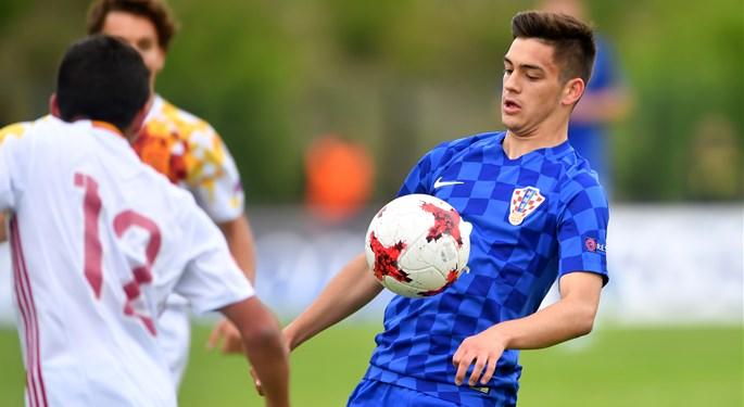 Sjajan pogodak Čoline, Hrvatska U-17 uzela bod Španjolskoj