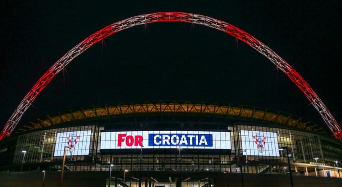 Legendarni Wembley zasjao u hrvatskim bojama