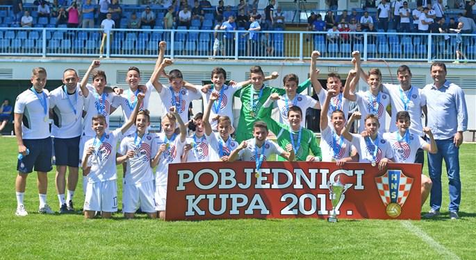 Hajduku pionirski i juniorski Kup, Dinamu kadetski
