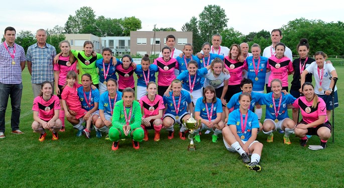 ŽNK Osijek opet uvjerljive prvakinje, ŽNK Split uzeo Kup