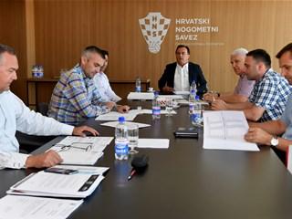 Održana sjednica Komisije nogometnih sudaca IO HNS-a