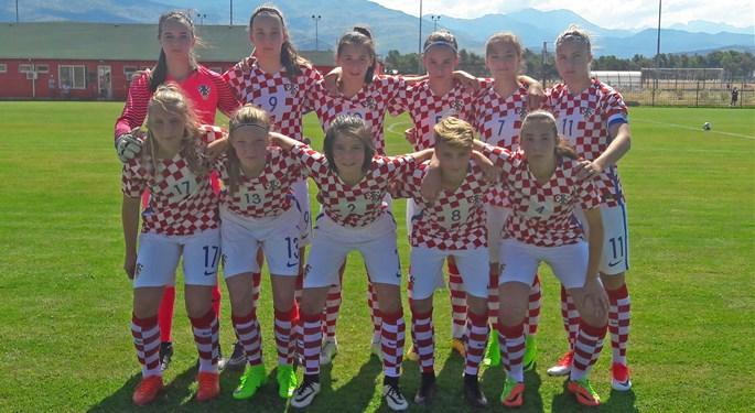 Mlade Hrvatice porazom otvorile Trofej FSCG