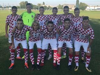 Hrvatska U-16 četvrta na zagrebačkom turniru