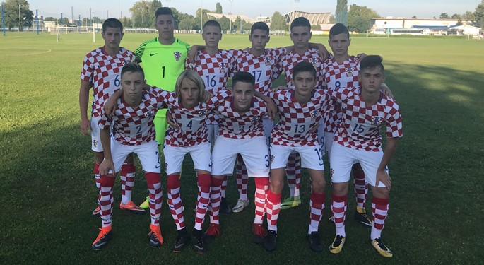 Hrvatska U-15 na turniru Mijo Etlinger
