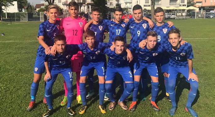 Hrvatska U-16 u borbi za treće mjesto