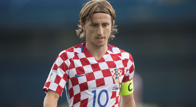 purchase cheap 624db 0ad2c Luka Modrić: 100 - Croatian Football Federation