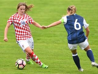 Mlade Hrvatice remizirale u novom srazu sa Škotskom