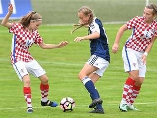 Hrvatska U-19 minimalno poražena od Škotske