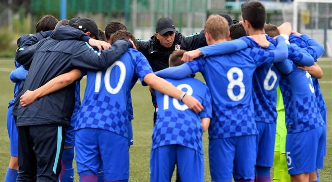 Hrvatska U-16 odigrala prijateljske susrete s Engleskom