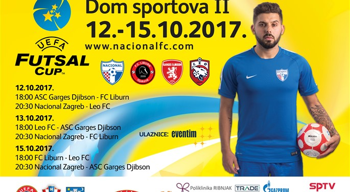 Nacional domaćin skupine UEFA Futsal Cupa