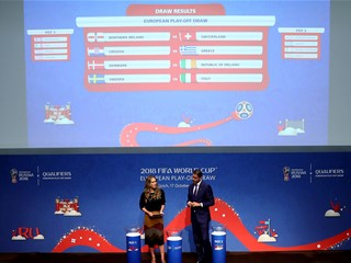 "Croatia to face Greece in World Cup play-offs: ""Full respect"""
