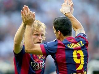 Ivan Rakitić zaključio visoku pobjedu Barcelone