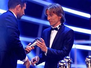 Luka Modrić in the FIFA FIFPro World11