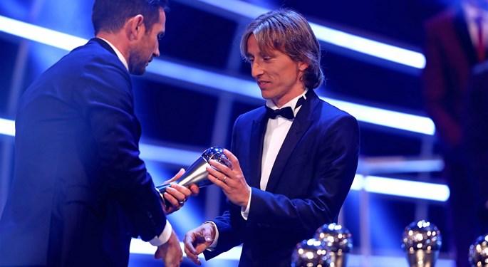 Luka Modrić u idealnoj momčadi svijeta