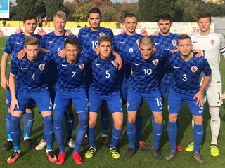 Video: Hrvatska U-19 bez pogodaka s Latvijom