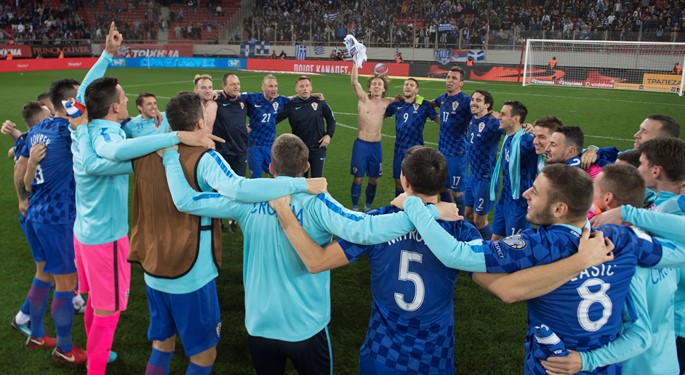 Off to World Cup! Croatia eases past Greece