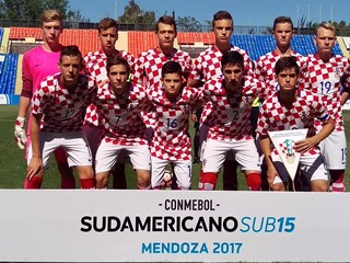 Hrvatska U-15 izborila premijerni bod na prvenstvu Južne Amerike