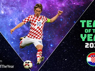 Luka Modrić nominated for UEFA Team of the Year