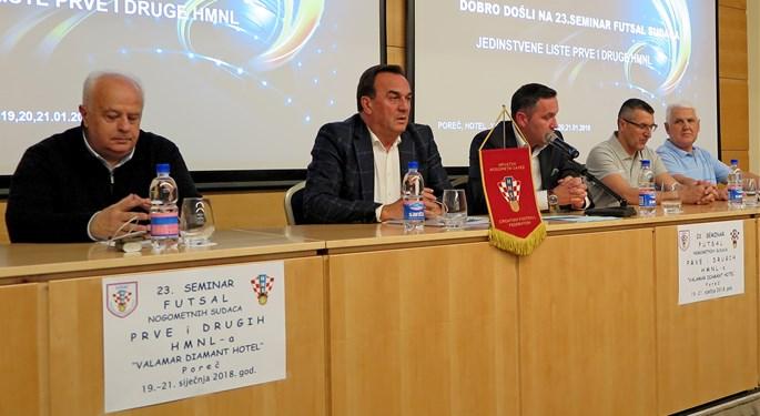 Održan 23. seminar futsalskih sudaca i kontrolora