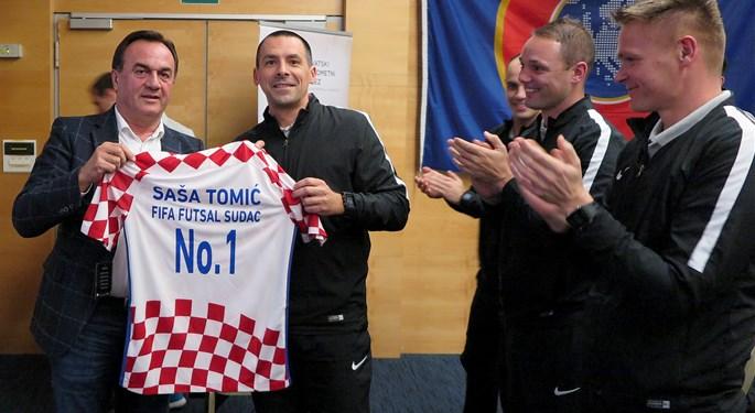 Saša Tomić u sudačkoj postavi finala Europskog prvenstva
