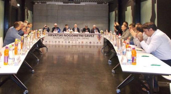 Održana plenarna sjednica klubova Treće HNL Zapad