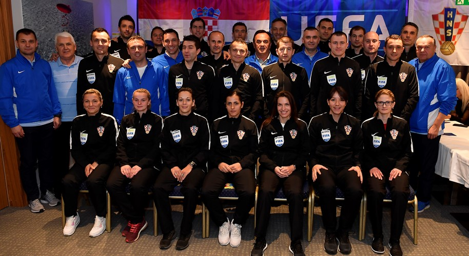 Uspješno odrađen seminar sudaca u Medulinu#A Successful Refereeing Seminar in Medulin