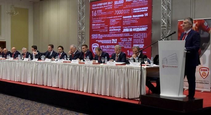 """Šuker Uefin predstavnik u Skopju: """"Rad koji zaslužuje čestitke"""""""