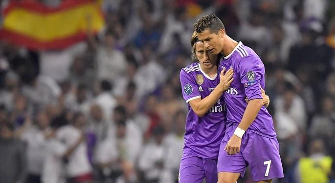 Modrićev udarac i Ronaldov dodir spasili bod Realu
