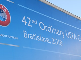 ExCo Meeting and UEFA Congress in Bratislava