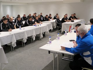 Medulin ugostio seminar sudaca i kontrolora Druge HNL