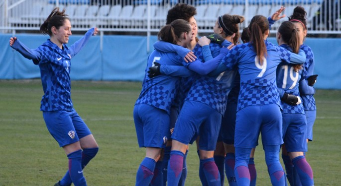 Efikasne Hrvatice s 5:0 nadjačale Crnu Goru