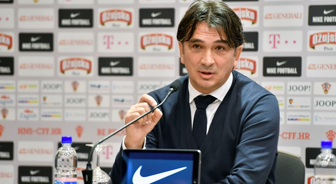 Head coach Dalić presents 24-man Croatia squad