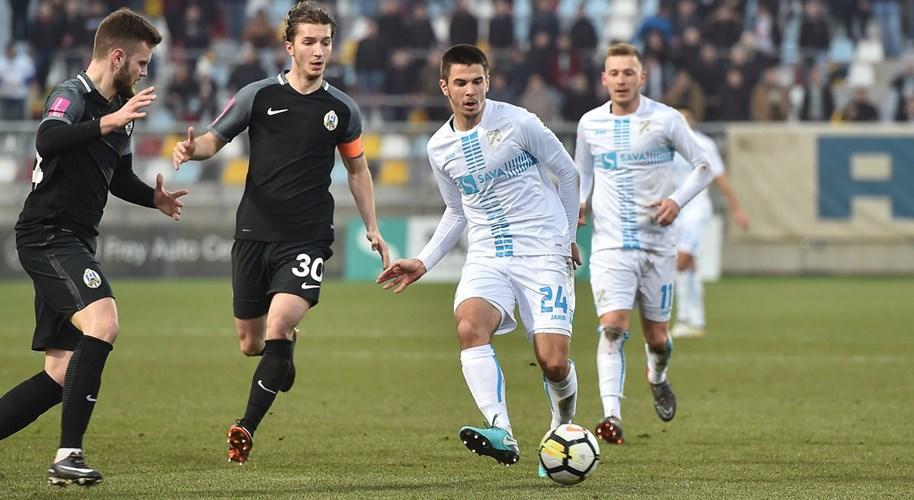 Video: Dinamu bod kod Slavena, Lokomotiva svladala Rijeku
